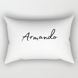 Armando Calligraphy Rectangular Pillow
