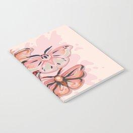 Pink Moths Notebook