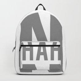 Hahaha NO Backpack