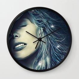 Northern Star - Joni Mitchell Wall Clock
