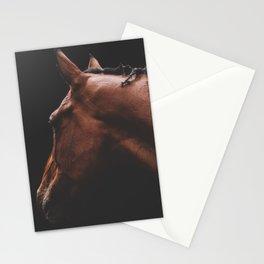 Cinnamon - fine art horse print Stationery Cards