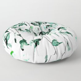 Ivy on the Wall Floor Pillow