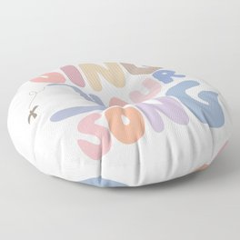 Sing Your Own Song Floor Pillow