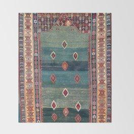 Sivas Antique Turkish Niche Kilim Print Decke