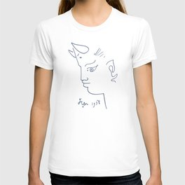 Jean Cocteau Tete de Faune (Head of Fauna), Artwork, Posters, Prints, Tshirts, Men, Women, Kids T-shirt
