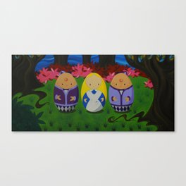 Wobbleland: The Tweedles Canvas Print