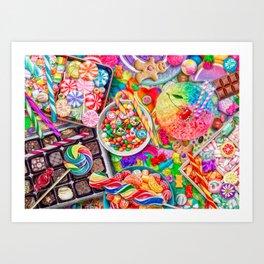 Candylicious Kunstdrucke