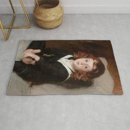 """John Singer Sargent """"Portrait of Laurence Millet"""" Rug"""