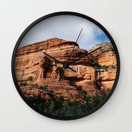 Sedona Canyon Wall Clock
