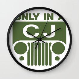 On-Cj Wall Clock
