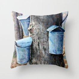 Hanging Around Throw Pillow