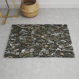 Hip Hop Comuflage Rug