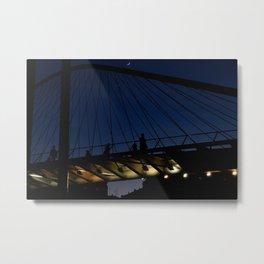 Bridgeline Skyline Metal Print
