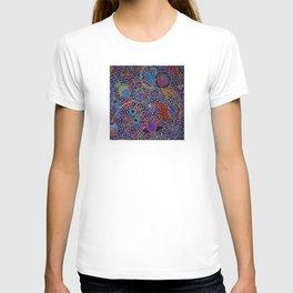 Tahitian Island Style Exotic Pattern T-shirt
