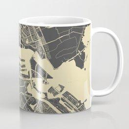 Amsterdam map Coffee Mug