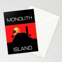 Monolith Island Stationery Cards