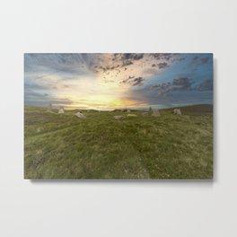 Penmaenmawr Sunset 1 Metal Print