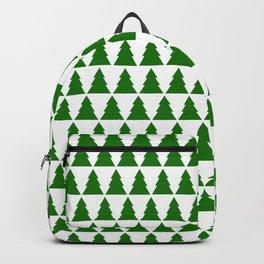 Minimal Christmas Tree Backpack