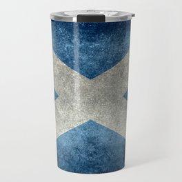 Flag of Scotland or Scottish Flag Travel Mug