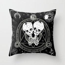 Double quantum Throw Pillow