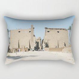 Temple of Luxor, no. 11 Rectangular Pillow