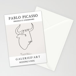 Picasso  Bull Stationery Cards