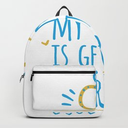 My Uncle Is Getting Married - Funny Wedding print Backpack