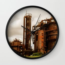 Gas Works Wall Clock