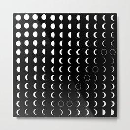 Lunar Calendar 2020 Metal Print