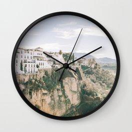 Majestuosa Andalucía Art Print Wall Clock