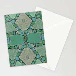 Abstract Stone Design 648 Stationery Cards