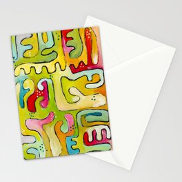 La Linea En Color 1 Stationery Cards