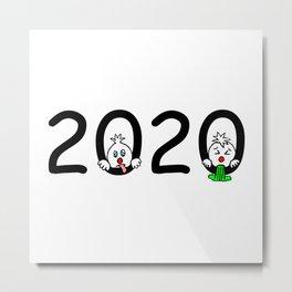 2020 - Miserable year! Metal Print