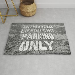 Parking for Life Rug