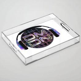 Dark Matter Digital Network Acrylic Tray