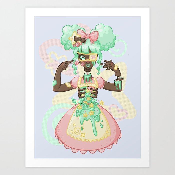 Candjgoree Candy gore, pastel goth art, creepy art, kawaii art, character design inspiration, graf, horror art, aesthetic art, cute drawings. candjgoree
