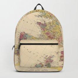 Vintage Geological Map of Europe (1856) Backpack