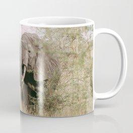 ELEPHANT EATING OFF A TREE Coffee Mug