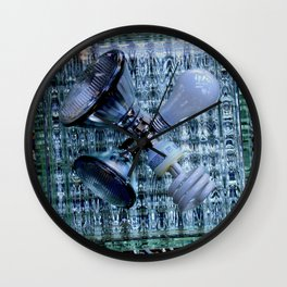 Burn-out Wall Clock