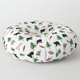 Moose Bear Floor Pillow