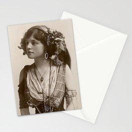 BEAUTIFUL GYPSY GIRL, Circa 1900 Stationery Cards