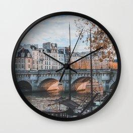Paris, France Wall Clock