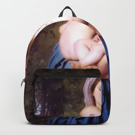 William-Adolphe Bouguereau - Charity Backpack