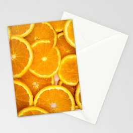 Fresh Oranges Stationery Cards