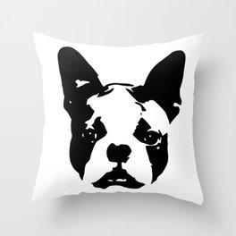 CHRISTMAS GIFTS for the Boston Terrier lover from MONOFACES in 2020 Deko-Kissen