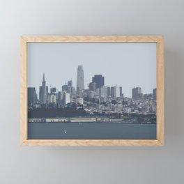 San Francisco Skyline Framed Mini Art Print