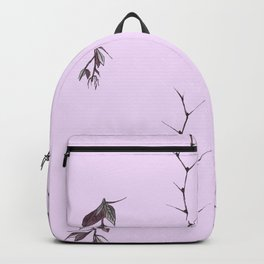 Sprigs of barberry and hawthorn Backpack