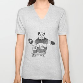 Rad Panda Unisex V-Neck