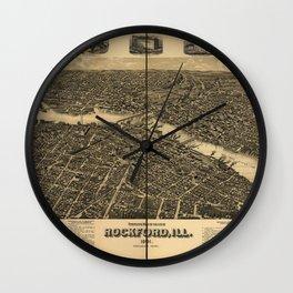 Rockford 1891 Wall Clock