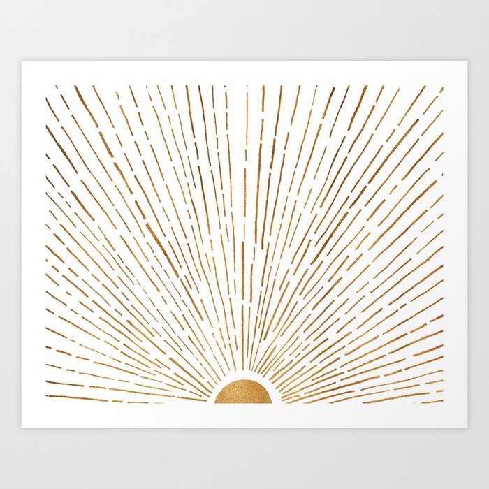 Let The Sunshine In Kunstdrucke